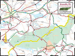 Tennessee Counties Map Where Is Knoxville Tn Where Is Knoxville Tn Located In The