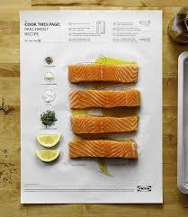photo recette cuisine ikea invente les posters de recettes de cuisine qui vont au four