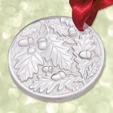 2016 lalique annual chene oak clear ornament sterling