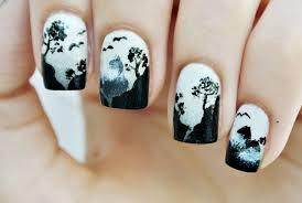 spooky halloween nail art cw44 tampa bay 20 cool halloween nail