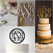 6 trending wedding cake toppers