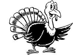 free coloring pages turkey thanksgiving projects