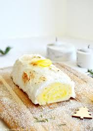 cuisine noel lemon meringue pie style yule log s cooking twist