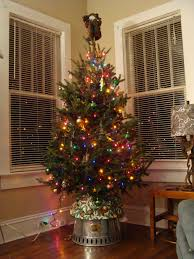 i had a small space for my tree so i set a 5 foot tree on