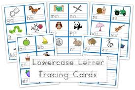 letters to print and trace lowercase letter tracing cards free preschool printables