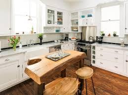 breathtaking tudor style kitchen features l shape white wooden