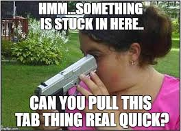 Dumb Girl Meme - image tagged in dumb girl gun imgflip