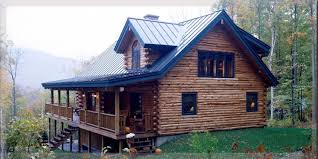 Log Home Styles Ranch Style Log Homes By Treetop Log Homes In Michigan Indiana