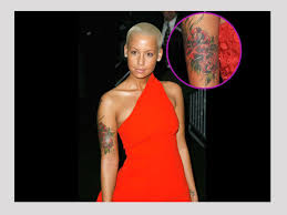 25 wonderful amber rose tattoo collection slodive