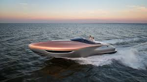 white lexus with bow lexus brings luxury to the waters with one off sport yacht concept