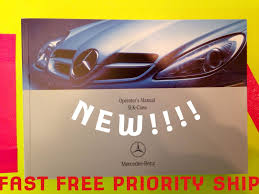 2005 mercedes slk slk350 slk55 owners manual fast ship new oem