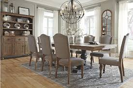 grayish brown tanshire dining room chair view 5 saddle brook