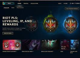 riot pls leveling ip and rewards u2013 nexus u2013 league of legends