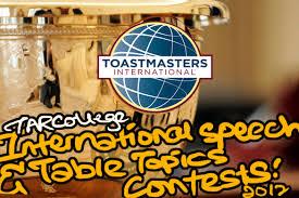 Table Topics Toastmasters Tar College Toastmasters U0027 International Speech U0026 Table Topics