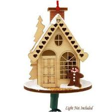 11 best wooden glitter house ornaments images on