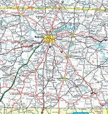 Tennessee Map Of Counties by Tennessee Aaroads Interstate 65