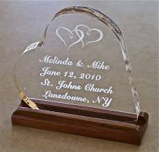 glass wedding cake toppers wedding cake topper acrylic personalized