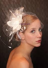 bird cage veil wedding hat fabulous headdress bridal hat