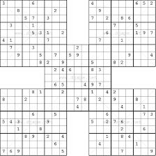 samurai sudoku online free printable puzzles