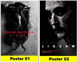poster digital jogos mortais jigsaw posterplus elo7