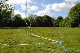 how to build a tilt over 60 foot antenna mast from scaffolding