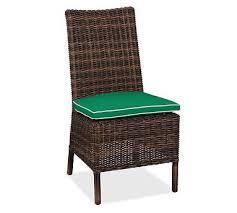Patio Furniture Cushion Slipcovers Torrey Armless Dining Side Chair Cushion Slipcover Sunbrella R