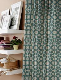 canberra in teal 01 by curtain express curtain fabric store