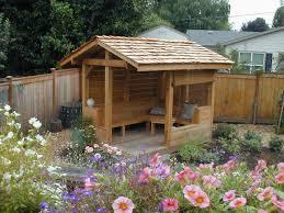 Garden Shelter Ideas A Garden Retreat Eclectic Landscape Portland By Plan It