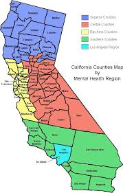 map of california counties organizational structure county behavioral health directors