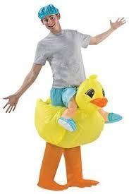 duck costume airblown rubber duckie duck racer