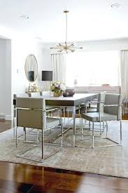 chrome dining room sets grey leather chairs dining room wood and chrome dining table with