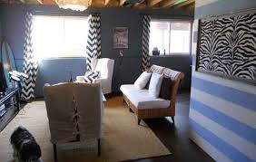 unfinished basement wall ideas living room