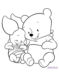 disney coloring pages for kindergarten cute winnie the pooh coloring pages printable cartoon coloring pages