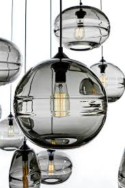 Contemporary Pendant Lights by John Pomp Hand Blown Sculpted Glass Pendants Contemporary