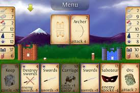 castle siege addictive strategy for 1 or 2 players castle