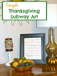 simple thanksgiving subway framable h2obungalow jpg