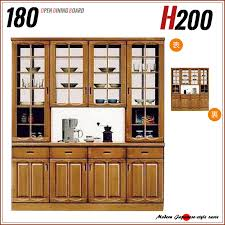 wood and glass cabinet ms 1 rakuten global market kitchen shelf double sided type glass