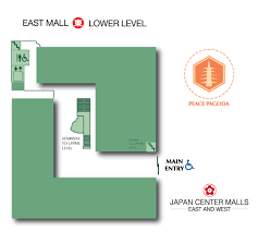 towne east mall map mall map center malls san francisco