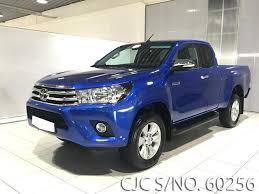 brand new 2017 left hand toyota hilux blue metallic for sale
