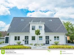 Duplex Building New Duplex House Stock Image Image Of Door Home Europe 41838389