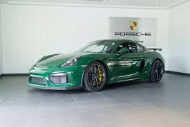 porsche cayman green 2016 porsche cayman gt4 for sale in colorado springs co c160