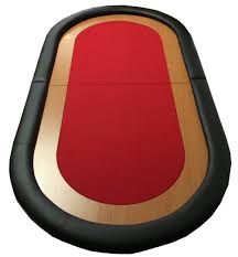 Table Top Poker Table Oval Poker Table Top Red Pokerproductos Com