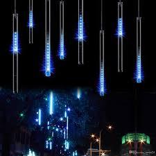 outdoor string lights rain 30cm 144led meteor shower rain tube led christmas light wedding
