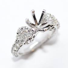 ring mountings diamond engagement ring mountings diamonds by janet