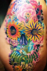 pin by o donohue perez on my ink floral skull