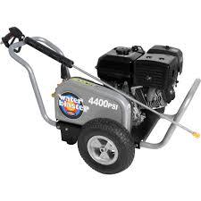 simpson waterblaster 4400 psi 4 0 gpm triplex pump gas pressure
