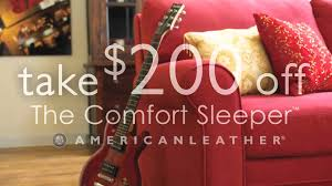 american leather sleeper sofa sale at kitchen kaboodle youtube