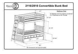 Bunk Bed Mattress Size Attractive Bunk Bed Mattress Size Delightful Bunk Bed Dimensions