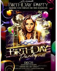 birthday party flyer party flyer templates for clubs business