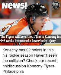 Flyers Meme - news nhl discussion ccm the flyers will be without travis konecny